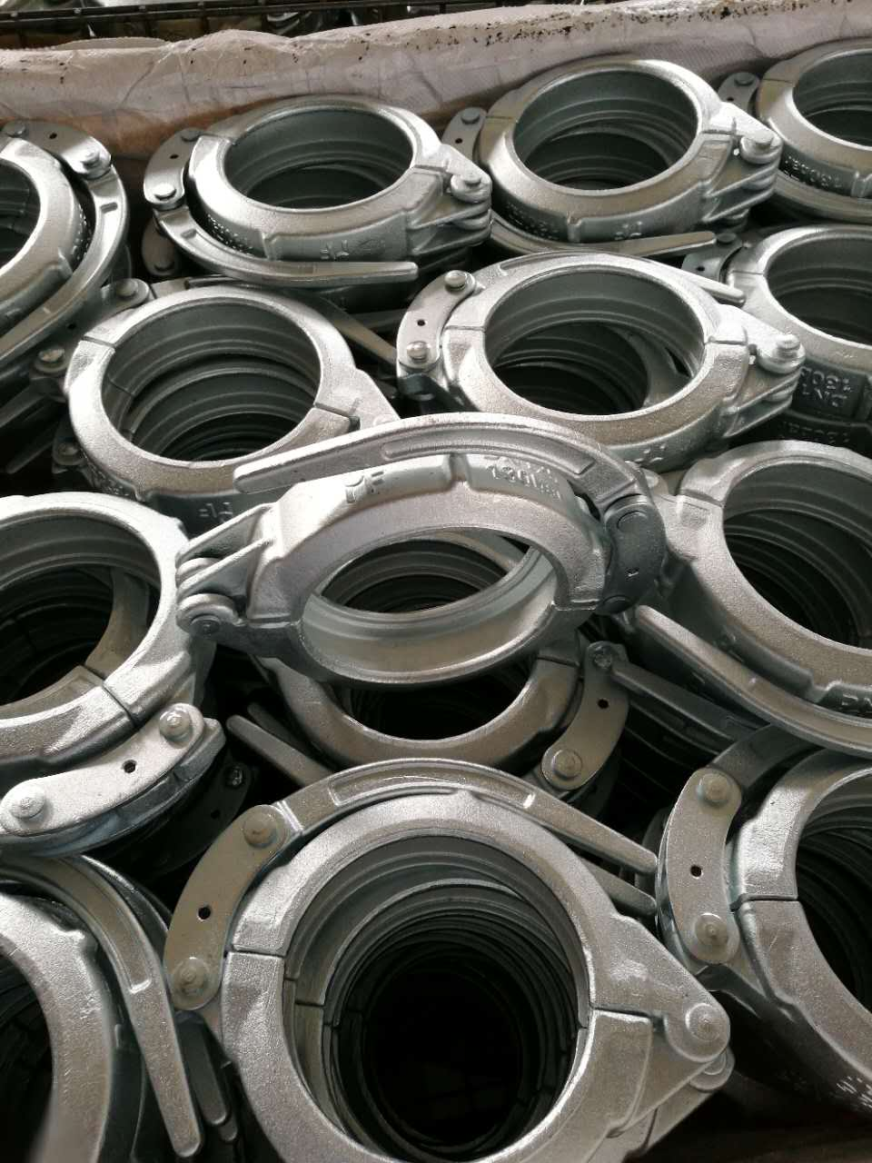 Concrete Pump Forged Sanp Clamp Coupling