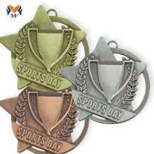 Creador de medallas de metal de la medalla ganadora de la campaña.