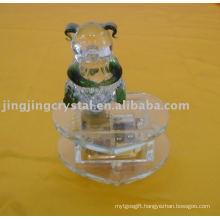 Crystal Panda Music Box