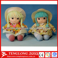 Baby toys stuffed and fashion girls plush doll toy