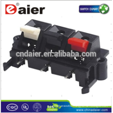 Daier WP3-1 3P Red& Black&White Clip Spring Terminal Speaker Push Terminal