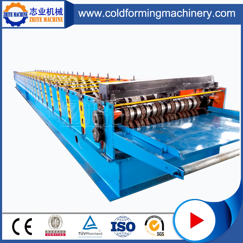 Floor Deck Tile Roll Machine
