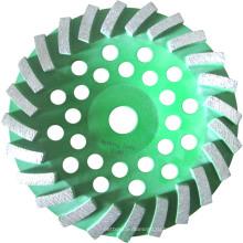 Крученый алмазный шлифовальный круг