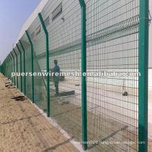 PVC Coated Triangle bending Fence -- Manufacturer-CN