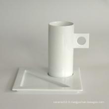 Ensemble de tasse de café en porcelaine, style # 669