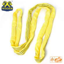 Standard Color Code Soft Round Webbing 3 Ton Lifting Sling