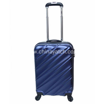 PET material durable anti-scratch cabin luggage