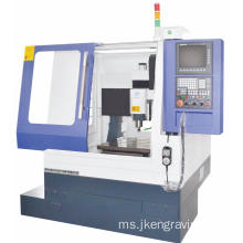 Penutup Penuh CNC Four Shaft Engraving Machine