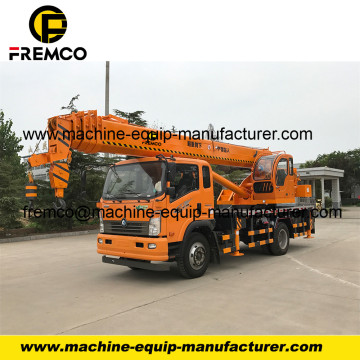 5-6 Arms Mobile Pickup Truck Crane