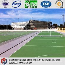 Estructura de acero moderna Edificio de gimnasio comercial de Sinoacme