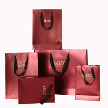 Custom Color Print High Quality Paper Shopping Gift Bag