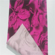 Materiais orgânicos interlock tecido tecido de algodão cartoon