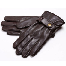Männer Mode Winter Warm Leder Motorrad Fahren Sport Handschuhe (YKY5195)