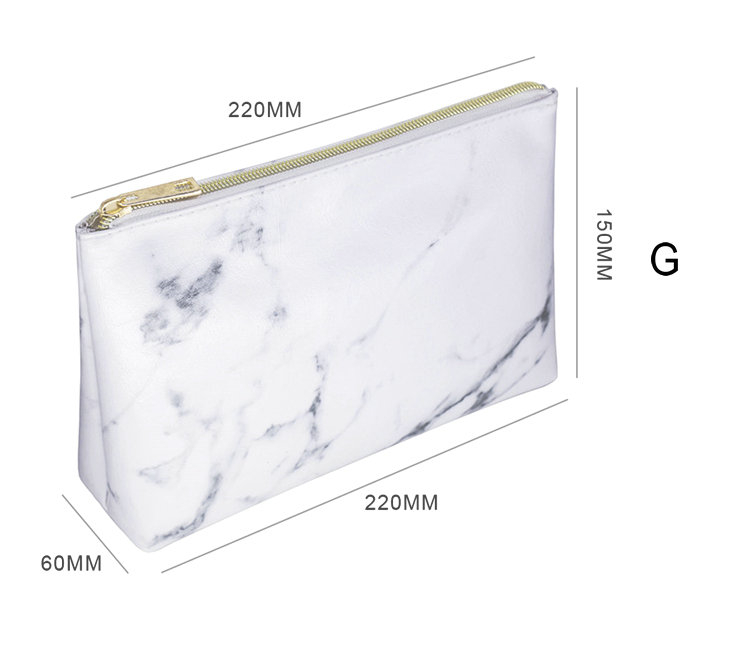Marble Cosmetic Bags