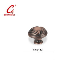 Copper Knob Handles with Decorative Pattern (CH2142)