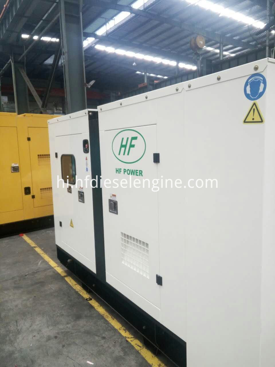 cummins generator set silent type-2