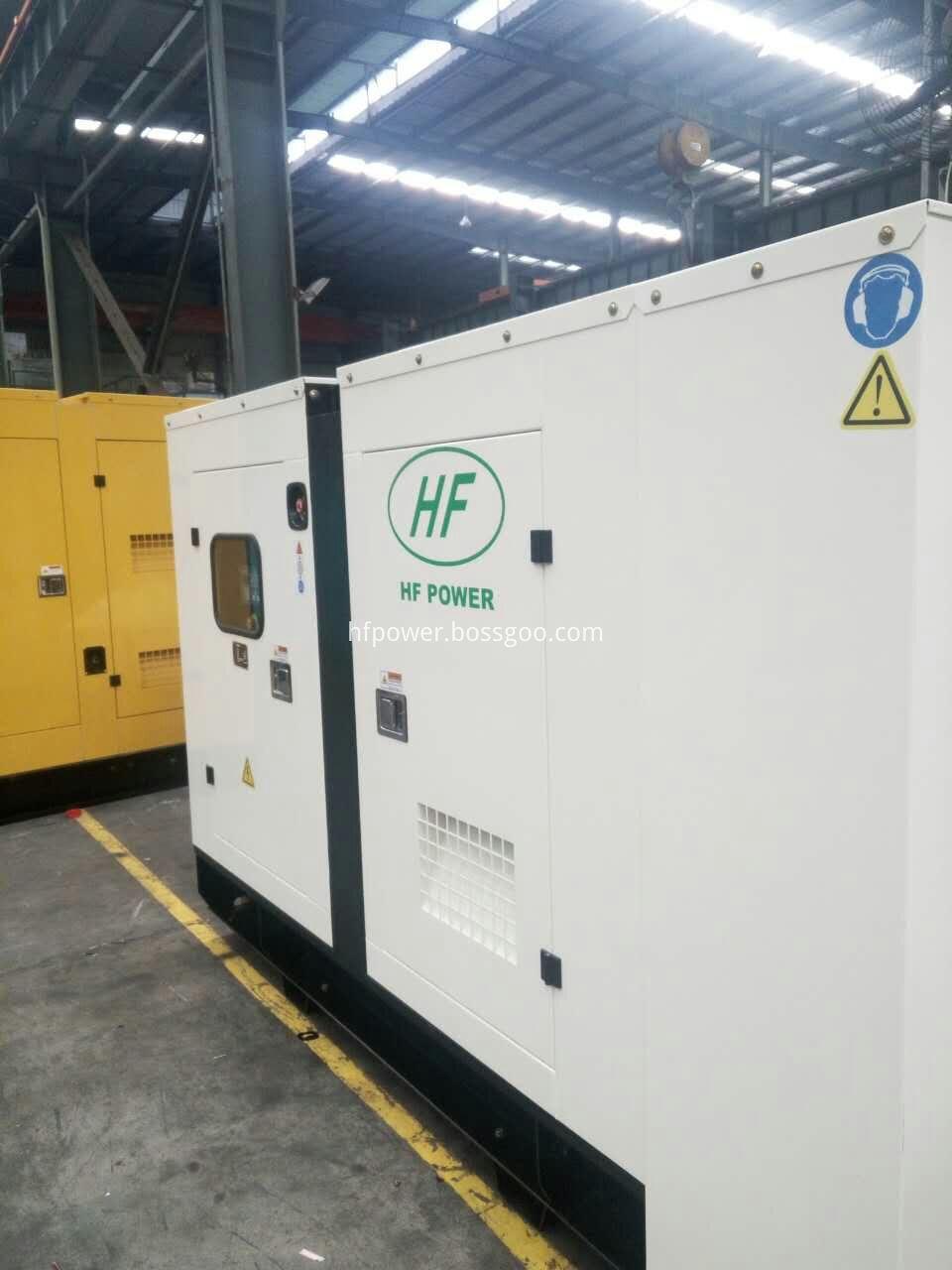 100kvagenerator set silent type-2