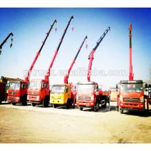 2018 modelo Dongfeng grúa camión / camión grúa / grúa con camión / grúa montada camión / grúa de elevación camión