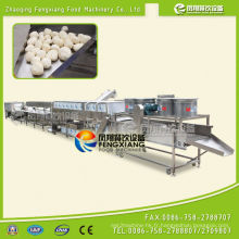 Ligne de production de séchage à l'écaillage de manioc industriel automatisé