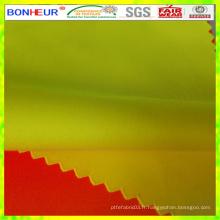 Tissu poly coton téflon haute visibilité