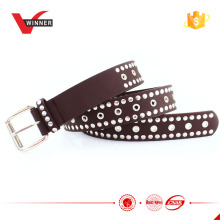 custom high quality pu belt for men