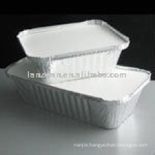 Rectangle Foil Container for food