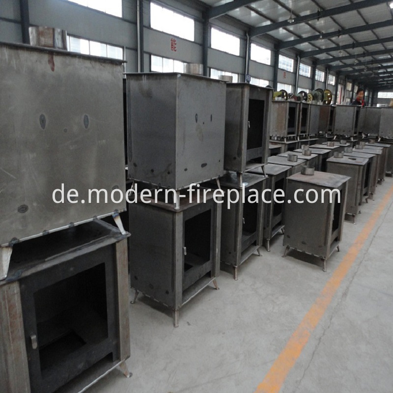 Wood Burning Stove Large Production
