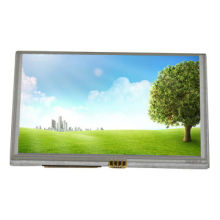 7-inch TFT LCD Touch Display Module with 800 x 480 Pixels, 4 Wires Touch Panel