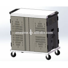 ZMEZME 36 baías ipad laptop tablet sync carregando gabinete & cart