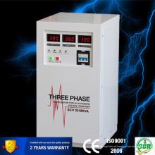 Regulador de tensão automático de três fases Servo Motor