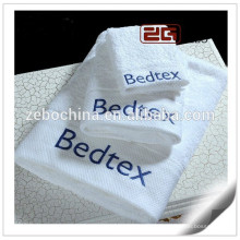 Best Quality Sateen Design with Embroidery Cotton Hotel Towel Set 5 Star