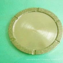 fournisseur d'or diamant abrasifs pierre polissage tampons