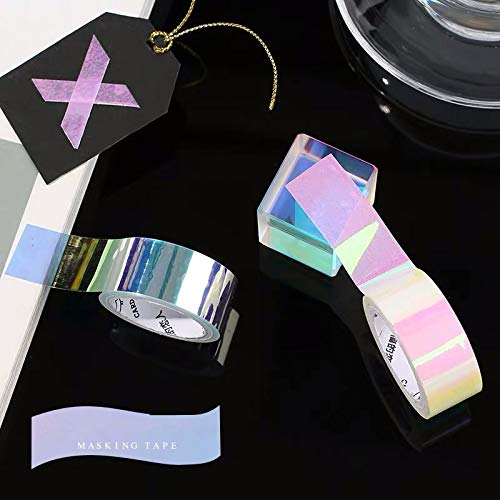 Holographic Rainbow Colored Masking Tape 3