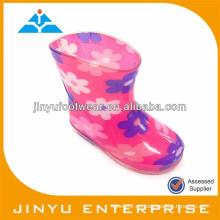 Zapatos de los cargadores de lluvia de la jalea de los niños