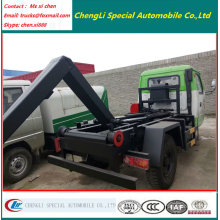 2000liters Small Mini Swing Arm Garbage Truck