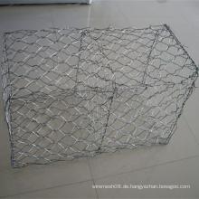 Schwere sechseckige Drahtgeflecht für Gabion Basket