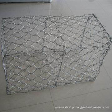 Rede de fio sextavada pesada para a cesta de Gabion