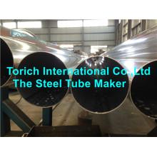 Труба сваренная нержавеющей сталью ASTM a249 для химической промышленности