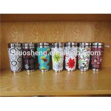 modische Produkte aus rostfreiem Stahl hergestellt in China benutzerdefinierte Farbwechsel Keramiktasse