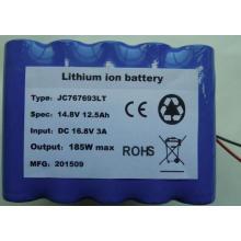 14.8V 12.5Ah batería de litio de baja temperatura