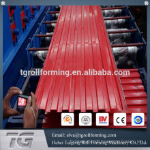 Latest technology roller shutter door roll forming machine rolling shutter door forming machine