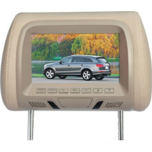 7 Inch Car Headrest Monitor USB SD Optional