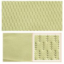 Tela de malha 100% de confecção de malhas do poliéster de tricô da urdidura para a roupa