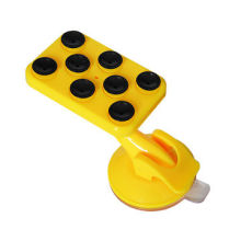 Plastic silicone, car mobile stand for mobile, iPod/iPhone/GPS/MP3 Players