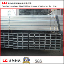 Hot Dipped Galvanized Rectangular Steel Pipe for Structure Use