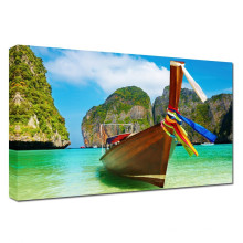 Sommer-Paradies-Boot Seascape Fotografie Kunst