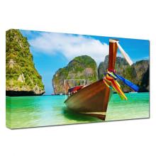 Verano paraíso Barco Seascape Fotografía Artes