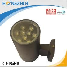 Lumière murale à LED haute performance haute performance 240v haute luminosité rechargeable extérieure