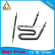 finned tubular heating element for air Space heater