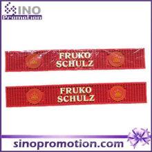 Heiße Verkaufs-rote Gummi-lange Schienen-Gummistab-Matte